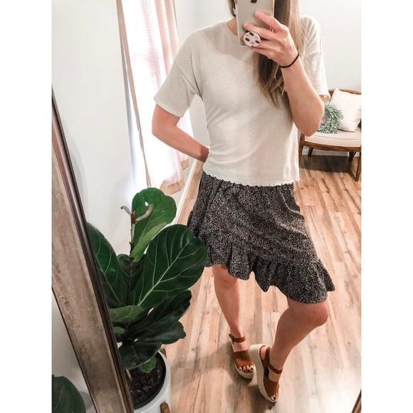 MICHAEL Michael Kors Dresses & Skirts - MICHAEL Michael Kors Ruffled Mini Skirt Large
